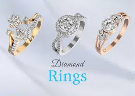 Diamond Designs Buy Diamond Rings Online In India Shop Latest Designs At