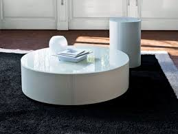 ... Modern Round Coffee Table With Storage