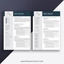 Modern 2020 Resume 2020 Professional Resume Template Modern Cv Template Cover Letter Word Resume 1 3 Page Editable Resume Top Selling Resume Job Winning Resume