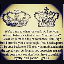 Love Quotes From King To Queen Hover Me Cool King And Queen Quotes Images