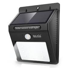Wireless Lights Walmart Baxia Technology Waterproof Wireless Solar Motion Sensor
