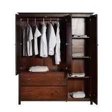wood furniture door. grain wood furniture shaker 3door solid armoire cherry finish by door
