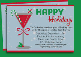 Unique Office Holiday Party Invitation Wording Terrific As Party