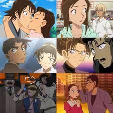 Amuro & Azusa - Thông thường trong các movie Conan, ngoài...
