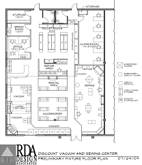 retail Store Floor Plan With Dimensions - Google Search | Project ...