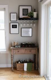 live love laugh home decor lovely creating a farmhouse inspired wine nook