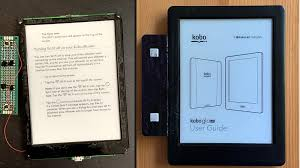 E-Book Reader Gets Page Turn Buttons ...