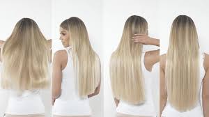 Clip In Hair Extension Length Chart Beauty Works Clip In Hair Extension Length Guide