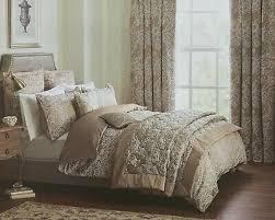 dorma ottoman jacquard taupe duvet