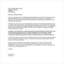 cover letter for administrative assistant position cover letter for resume administrative assistant
