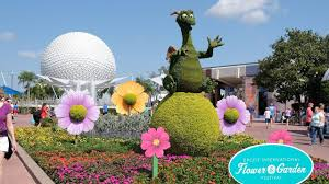 disney flower and garden. Topiary Disney Character Displays At Epcot International Flower \u0026 Garden Festival 2018 And