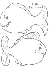Printable Fish Patterns Printable Fish Pictures Magnificent