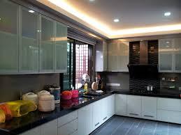 Wet Kitchen Concrete Table Top And Cabinet Design Wet Kitchen Design