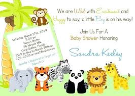 Free Printable Safari Birthday Invitations Jungle Animals Birthday Invitation Template Safari Free Animal