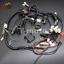 full wiring harness loom ignition coil cdi for 150cc 200cc 250cc full wiring harness loom ignition coil cdi for 150cc 200cc 250cc 300cc zongshen lifan atv quad buggy electric start ac engine