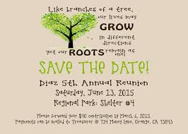 Save The Date Flyer Family Reunion Printable Digital Invitation