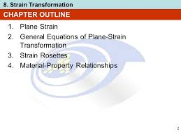 general equations of plane strain transformation