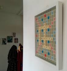 Scrabble Letter Wall Decor Diy Personalised Scrabble Board Wall Art Call Me Katie