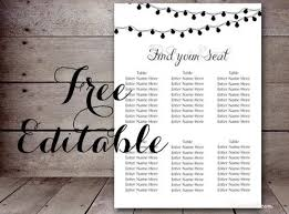 Wedding Seat Chart Poster 20 Beautiful Wedding Seating Chart Ideas Templates Xdesigns