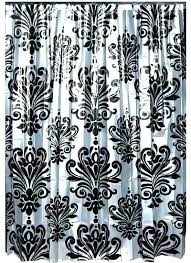 black and white damask shower curtain damask shower curtain damask shower curtain imposing decoration black and