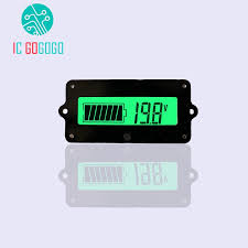 Us 6 59 5 Off Dormancy Standby 12v Ly4 Lead Acid Battery Voltage Capacity Tester Capacity Indicator Lcd Digital Display Meter In Storage Batteries