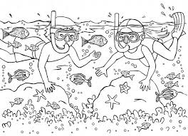 Palm trees, ocean, ice cream! Summer Coloring Pages For Kids Print Them All For Free