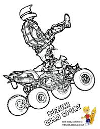 Find more coloring pages online for kids and adults of ben 10 quad coloring pages to print. Atv Coloring Pages Coloring Home