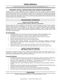 96 Operation Manager Resume Template Operations Manager Sample