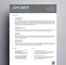 11 Resume Designs With Slick Personal Branding How Design Graphic