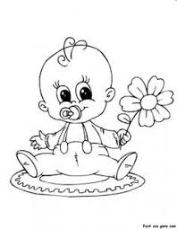 Small Picture Baby Coloring Pages New Baby Printable Coloring Pages Coloring
