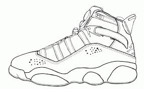 Air Jordan Coloring Pages