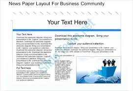 newspaper ppt template news powerpoint template lovely clean presentation slides download
