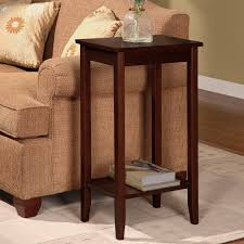 brilliant tall end table in amish works 281587 talsma furniture