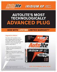 Autolite Xp666 Iridium Xp Spark Plug Pack Of 1