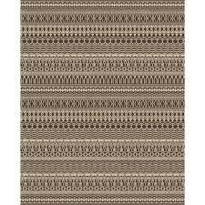 ruggable washable cadiz espresso 8 ft x 10 ft area rug