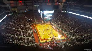 Pinnacle Bank Arena Lincoln Ne Seating Chart Pinnacle Bank Arena Section 313 Nebraska Basketball
