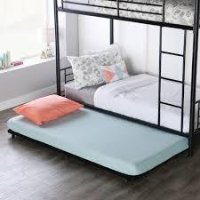 black iron furniture. Walker Edison Furniture Company Twin Metal Trundle Bed Frame Black Iron D