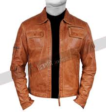 men s camel colored faux leather jacket 168 add to compare