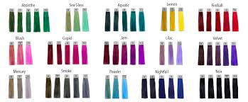 Pulp Riot Swatch Chart Pin On Lily Jo Hair Ideas
