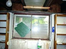 basement window replacement inserts replace basement window an old rusted with a steel frame in cost to windows glass block replacing a basement window home