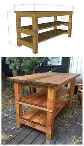 rustic kitchen island ideas. Brilliant Ideas After Many Requests I Took A Stab At Designing Similar Island And Added  The Plans Below It Is Easy To Alter For Your Specific Dimensions In Rustic Kitchen Island Ideas N