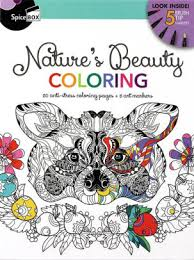 Natures Beauty Coloring 50 Anti Stress Coloring Pages 5 Art