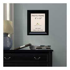 steinway 8 in x 10 in black picture frame
