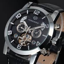 whole cheap winner mechanical tourbillon business leather cheap winner mechanical tourbillon business leather strap watches 2016 men luxury hand automatic watch wm444