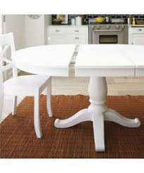 avalon 45 white extension dining table