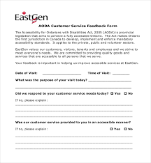 feedback forms for employees sample customer feedback form 22 free documents in pdf