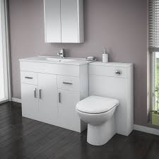 White Bathroom Suite Vanity Units Bathroom Suites Victorian Plumbing Uk
