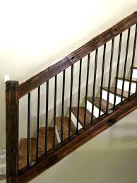 diy stair railing designs interior diy stair railing handrail with industrial pipes and diy designs