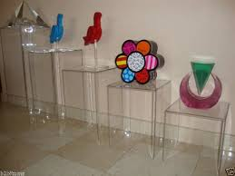 Sculpture Stands To Display Art Interesting Amazon Marketing Holders Acrylic Display Cube Pedestal Art