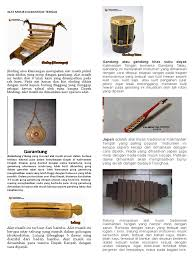 Benda logam adalah bahan untuk membuat saksofon. Alat Musik Tradisional